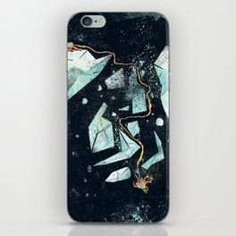 Climbing the Crevasse iPhone Skin