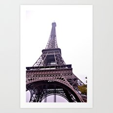 Le Tour Eiffel- Side Art Print