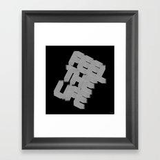 Feel the Life Framed Art Print