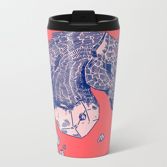 ♞✧ Metal Travel Mug