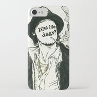 "snatch iPhone & iPod Cases featuring ""D'ya like dags?"", 2014 by Unaitxo"