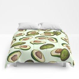 avocado pattern Comforters
