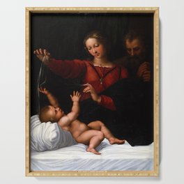 Raphael The Holy Family Serving Tray