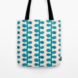 Like a Leaf [blue spots] Tote Bag