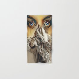 Spirit Of The Wolf Hand & Bath Towel