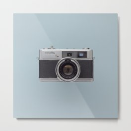 minolta 7s - vintage camera  Metal Print