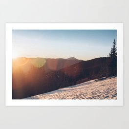 ELBERT ASCENT 02 Art Print
