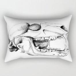 Bear Skull Rectangular Pillow