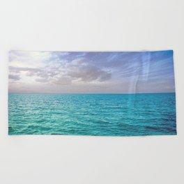 Caribbean Sea Beach Towel