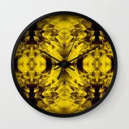 Dandelions Goldenglow Wall Clock