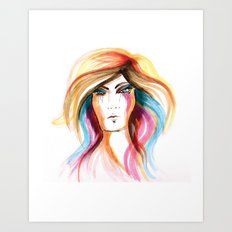 Layla Art Print