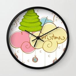 christmas 9 Wall Clock