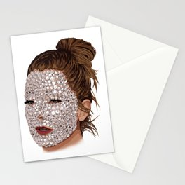 Rhinestones are life Stationery Cards