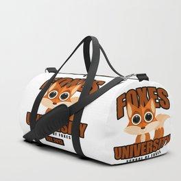 Foxes University Duffle Bag