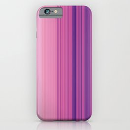 Abstract Vertical Violet and pink stripes iPhone Case