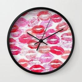 Barbie Kisses Wall Clock