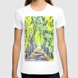 Forest Path Watercolour T-shirt