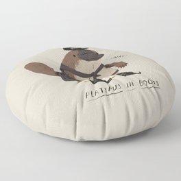 platypus in boots Floor Pillow