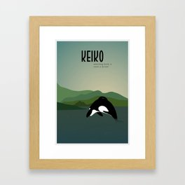 Keiko Framed Art Print
