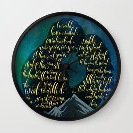 The wait was worth it. A Court of Wings and Ruin (ACOWAR). Wall Clock