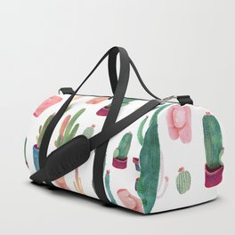 Cactus and butts Duffle Bag