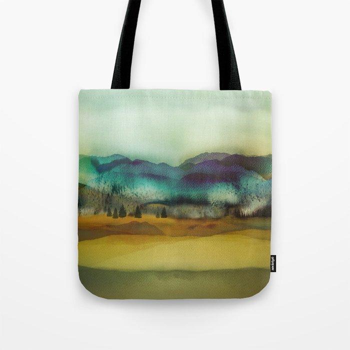 Blue Mountain Tote Bag