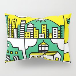 Seattle, Washington Pillow Sham