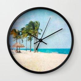Tropical Breeze Wall Clock