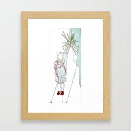Heart Sleeves Framed Art Print