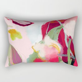 abstract bloom Rectangular Pillow