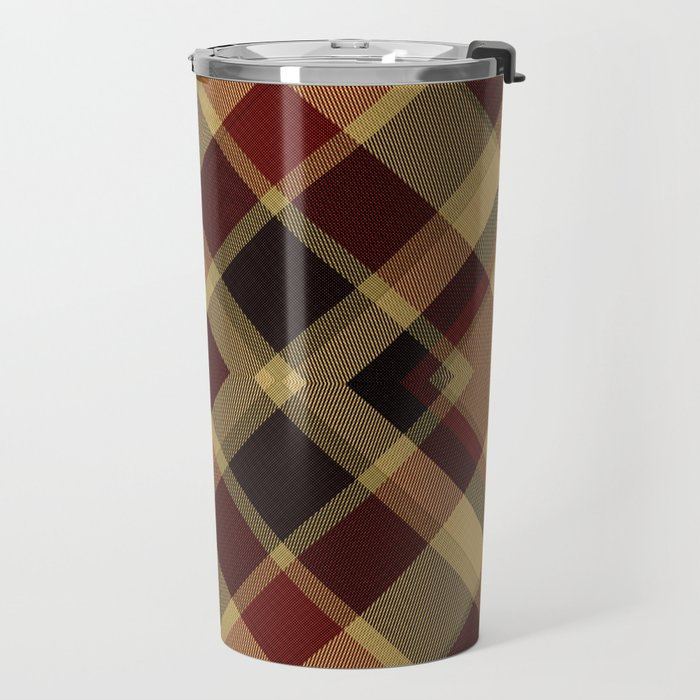 Colors Of Christmas (Plaid 3) Travel Mug