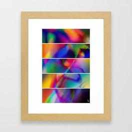 Aura Dream I (Five Panels Series) Framed Art Print