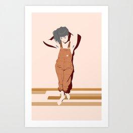 Overhauls Art Print