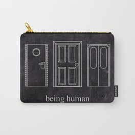 Being Human - Doors Carry-All Pouch