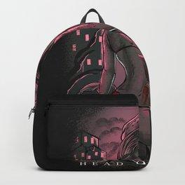 Head or knife Backpack