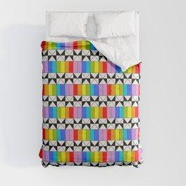 Tribute to mondrian 4- piet,geomtric,geomtrical,abstraction,de  stijl,composition. Comforters