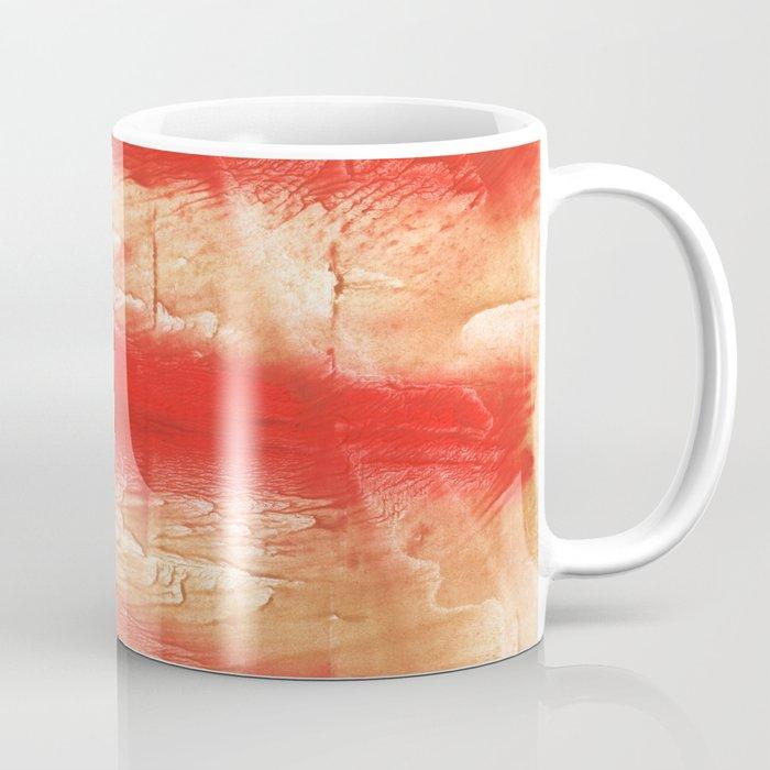 Burnt sienna abstract watercolor Coffee Mug