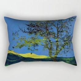 Abstract  Landscape  Digital Art Rectangular Pillow