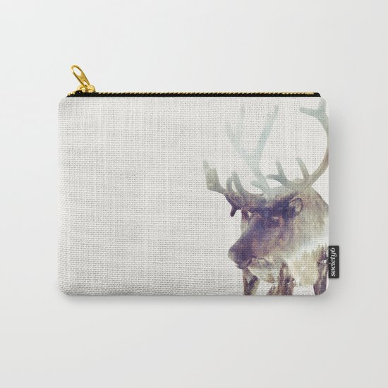 The Reindeer  Carry-All Pouch