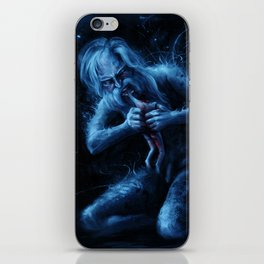 Saturn Devouring His Young (After Goya) iPhone Skin