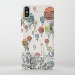 Voyages over Edinburgh iPhone Case