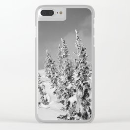 Winter day 26 Clear iPhone Case