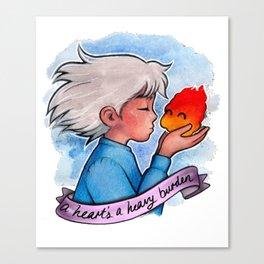 A Heart's A Heavy Burder Canvas Print