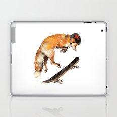 Red Fox the Skater Laptop & iPad Skin