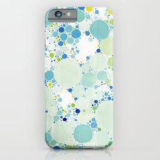 Watercolor Dots iPhone 6s Slim Case