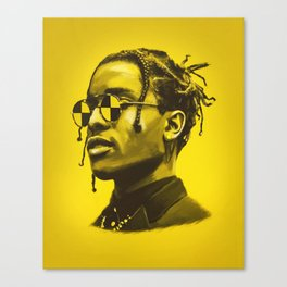 A$AP Rocky Canvas Print