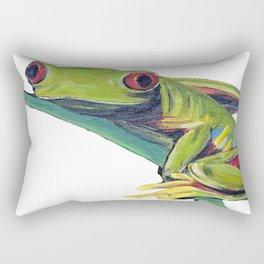 Red eyed tree frog 2 Rectangular Pillow
