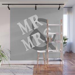Mr & Mrs Wall Mural