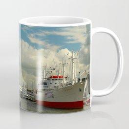 Elbharmonie With Harbor Scene Coffee Mug