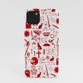 Buffy Symbology, Red iPhone Case